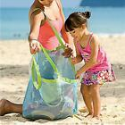 2015 Useful Mesh Tote Bag Clothes Toys Carry All Sand Away Beach Bag XL&S US ER