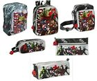 OFFICIAL AVENGERS MERCHANDISE - BACKPACK BAG PENCIL CASE SCHOOL KIDS GIFT XMAS