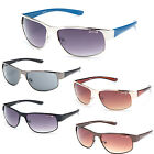 Men's Sports Cloud9 Sunglasses Metal & Plastic Polycarbonate Lens NE2837 multi