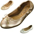 Womens Ballet Flats Slip On Ballerina Slippers Casual Comfort Padded Dress Shoes