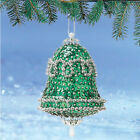 kit makes 3 Vintage Bell Ornaments  Christmas  Beads, Sequins, pins  Craft NEW