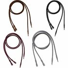 Set of 2 Hypo-Allergenic 3mm Thick Soft Faux Velvet Velveteen Necklace Cording
