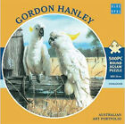 *NEW* Blue Opal Jigsaw Puzzles Cockatoos 500 piece Round Puzzle - Gordon Hanley