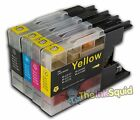 4 Brother LC1220/LC1240/LC1280 Compatible Ink Cartridges for MFC/DCP Printers