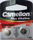 2x Batteries Button Cell AG0 - AG13 in Blister *New in Original Packaging
