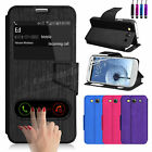 Flip Wallet Leather Case Cover For SAMSUNG Galaxy S3 i9300/9305 Screen Protector