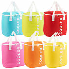 Large 30L Foil Insulated Thermal Cooler Picnic Lunch Food Carry Freezer Bag Box