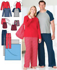 Sew & Make Simplicity 4889 SEWING PATTERN - Adult PAJAMAS LOUNGE WEAR BLANKET