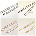 1pcs mixed necklace rolo chain (No locket) For Floating Memory Living Lockets