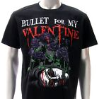Sz S M L XL XXL 2XL Bullet For My Valentine T-shirt  Black Many Size Bu6