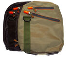 Ultimateaddons Sling Travel Shoulder Bag in Green or Black for Lenovo Tab S8