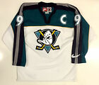 PAUL KARIYA ANAHEIM MIGHTY DUCKS 1997 NIKE WHITE 3RD ALTERNATE JERSEY RARE