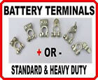 POS + or NEG - BATTERY TERMINALS CLAMP CAR COMMERCIAL PLANT HVY DUTY CONNECTORS