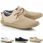 Mens boys casual lace smart canvas mesh espadrilles jute summer shoes trainers