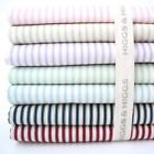 TICKING STRIPE - 100% COTTON FABRIC Patchwork Fashion basics PINK BLUE RED GREEN