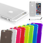 Hard Slim Crystal Back Case Cover For Apple iPhone 6 Free Screen Protector