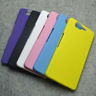 For Wiko High Way V8 Snap On Rubberized hard case back cover