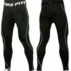 Modernlook Take Five Men's Compression Skin Tight Sports Pants 011 Black (S~XXL)