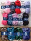 STYLECRAFT ESKIMO DK/DOUBLE KNITTING EYELASH WOOL/YARN - 15 COLOURS - 50g BALLS
