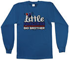 Threadrock Boys Little Policeman Big Brother Youth L/S T-shirt Police Sibling