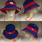 NFL New York Giants 2015 New Era Team Color Training Day On Field Bucket Hat