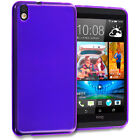 Top Holiday Gifts For HTC Desire 816 TPU Rubber Transparent Skin Case Cover Clear Color Accessory