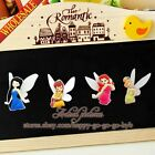 4pcs/set Tinker Bell Refrigerator Magnetic Stickers/Fridge Magnet,Party Gifts