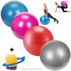 Anti Burst Yoga Ball 65cm Swiss GYM Exercise Fitness Pregnancy Multiple Colours