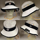 NFL Pittsburgh Steelers 2015 New Era White Training Day On Field Bucket Hat