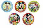 DISNEY Mickey Mouse Designs- PAPER PLATES (23cm) (Tableware/Party/Kids/Birthday)