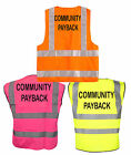 High Viz Community Payback Fancy Dress Stag/Hen Party EASY SPOT IN CLUB