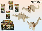 Dinosaur Skeleton Mini 3D Puzzle - Wooden Puzzle - Science Model Party Bag