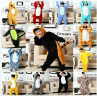 NEW Unisex Children Kid Pajamas Kigurumi Cosplay Animal Costume Onesie Nightwear