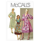 Sew & Make McCall's M5137 SEWING PATTERN - Womens Retro HIPPIE BOHO CHIC DRESSES