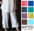 OH MY GAUZE Cotton BETH Short Crop Pant 1(S/M) 2(L/XL) 3(1X/2X) 2015 DISC COLORS