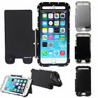 Luxury Shockproof Armor King Metal Case Cover For Apple iPhone 6/6+ Black/Silver