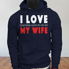 Life Humor Dont Husband I Love My Wife Funny Mens Navy Hoodie