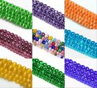 Wholesale Cat's Eye Round Ball Crystal Glass Loose Spacer Beads 4/6/8/10mm