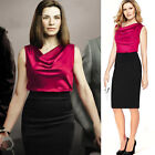 Womens Summer Elegant Wear to Work Casual Party Bodycon Pencil Dress  PLUS SIZE