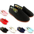 Unisex Kids Flossy Kung-Fu Pamplona Slip On Canvas Pumps Espadrille Shoe UK 10-3