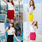 Amazing Women's Sexy Skirt Slim Seamless Stretch Tight Short Fitted Dress hot