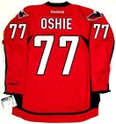 TJ OSHIE WASHINGTON CAPITALS REEBOK PREMIER HOME RED JERSEY NEW WITH TAGS