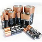 DURACELL AA, AAA, C, D, 9V AKALINE BATTERIES TOYS REMOTES CAMERAS TORCH BATTERY