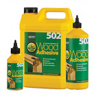 Everbuild 502 Weatherpoof Wood Furniture Frame Glue Bond Joinery Adhesive
