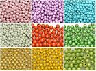100 PCS 3D Illusion Acrylic Miracle Round beads 8mm Spacer Pick Your Color