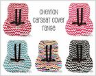 BRAND NEW Baby Toddler Kids Car Seat Cover - CHEVRON PRINT