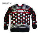 Official GREEN DAY Sweater Christmas Jumper Skulls Gift All Sizes