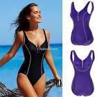 Women Push-up Padded Monokini One Piece Bikini Swimsuit SEXY Beachwear Swimwear