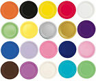 "Packs of 16 Solid Colour 9"" Round Paper Plates - Party Plate - Tableware"