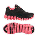 Reebok Shoe Zig Tech Zigenergy  Black Pink Gs Big Kids Junior Running 5 6 J22339